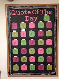 quote of the day passive bulletin board bulletin boards