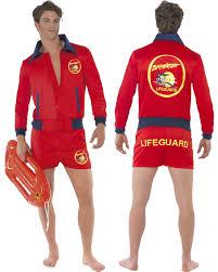 men u0027s official baywatch lifeguard jacket u0026 shorts fancy dress