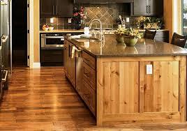 Rustic Oak Kitchen - unique look rustic kitchen island designs u2014 home design