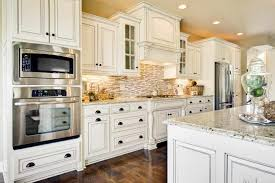 granite glass cabinet offwhite off white country kitchen cabinets
