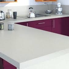 plan de travail cuisine verre plan de travail stratifiac effet alu cendrac mat l315 x p65 cm plan