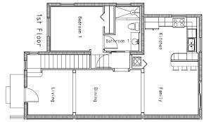 blueprints for small houses modern house plans small plan california bungalow interior