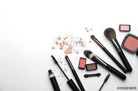 makeup artist tools decorative cosmetics and tools of professional makeup artist on