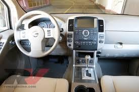 nissan pathfinder xe vs le 2008 nissan pathfinder se v8 test drive review rv magazine