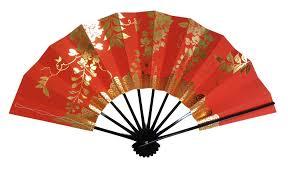 japanese fan orange japanese fan