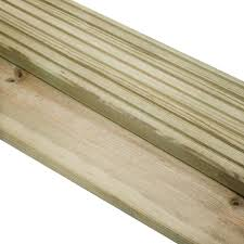 5 4m pressure treated decking boards