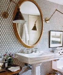 wallpapered bathrooms ideas 29 best wallpaper goodness images on wall papers
