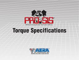 torque specifications