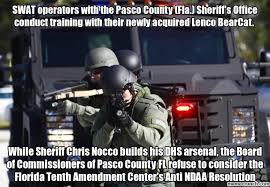 Swat Meme - operators with the pasco county fla sheriff s office conduct