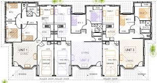 Multi Unit Apartment Floor Plans Triplex Plans Duplex Triplex Pinterest Duplex Design Duplex
