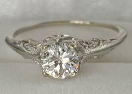 engagement rings simple simple vintage engagement rings 12239