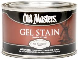 Gel Stain Colors Old Masters 81008 Gel Stain Pint Pickling White Household Wood