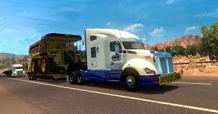 kenworth k200 usa kenworth t680 bmp haulage transport mod ats ats mod american