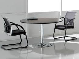 table ronde de bureau tables de réunion tables de réunion design en bois en verre
