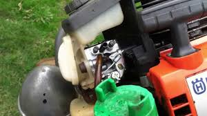 how to husqvarna weed wacker carburetor fix youtube