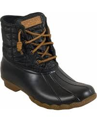 womens boots quilted big deal on sperry saltwater shiny quilted s boot