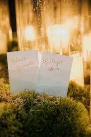 Unique Place Cards Formal Wedding Ideas Engage 16 Sea Island