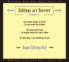 National Sibling Day Meme - quotes about close siblings 37 quotes