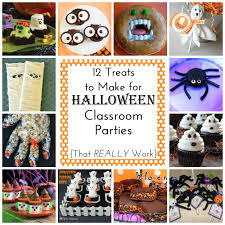 Easy To Make Halloween Treats 12 Easy Treats To Make For Halloween Class Parties Simple