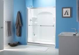 bathroom shower door ideas charming sliding bathroom door ideas photos best inspiration