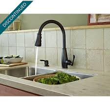 tuscan bronze ainsley 1 handle pull down kitchen faucet f 529