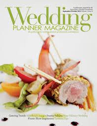 wedding planner magazine a recent wedding featured in wedding planner magazine dann