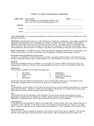 Dishwasher Resume Example by Month To Month Rental Agreement Form 86 Free Templates In Pdf