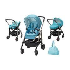 si e auto streety fix cărucior 3 în 1 trio loola excel de la bebe confort blue