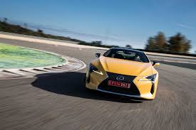 lexus lfa fully loaded price first drive 2018 lexus lc 500 and 500h automobile magazine