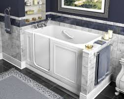 Bathroom Designs With Walk In Shower by Bath Shower Combo For Elderly Converting Tub To Walk In Shower