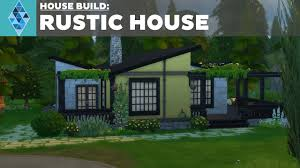 Rustic House The Sims 4 House Build Rustic House Youtube