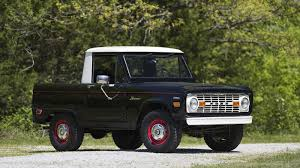Ford Raptor Bronco - 1969 ford bronco half cab muted