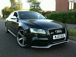 2010 audi a5 s line 3 0 tdi quattro manual black 83000 miles in