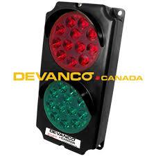 stop and go light bsg12 24led devanco stop and go light black housing 12 24v led