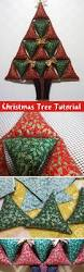 christmas tree soft toy panel diy step by step tutorial елочка