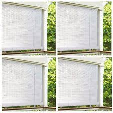 Roll Up Patio Blinds by 0321086 Lewis Hyman 8 Ft X 6 White 25 In Oval Vinyl Roll Up Blinds