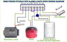 door access control systems gsm gate opener rtu5015 open door king