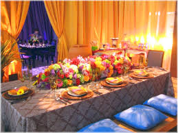 moroccan setting dinner party ideas romatic advice for your home