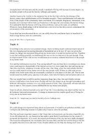 185 toefl writing topics and model essays