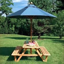 Tablecloth For Umbrella Patio Table Idea Small Patio Table With Umbrella Or Great Picnic Table
