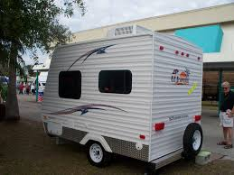 Tiny Mobile Homes For Sale by Mini Rv Micro Travel Trailer For Just 6k