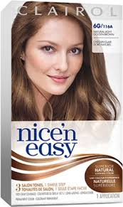 clairol nice n easy natural light auburn permanent hair color clairol nice n easy