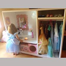 Diy Play Kitchen From Entertainment Center Dress Up Cupboard Closet Entertainment Center Upcycled With Locker