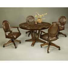 Kitchen Table And Chairs With Casters by 18 Best Dining Chairs With Casters Images On Pinterest Dining