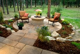 Circular Patio Kit by Firepit Caps Earthstone Products