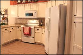 painted white kitchen cabinets with white appliances u2013 home design