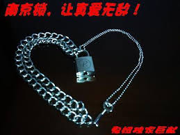 lock necklace punk images Punk sid lock nana lock nanjing lock key single face r nanjing jpg