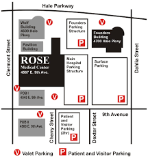 Map Rose Rose Medical Parking Map We Are Located In The Wolf Building Yelp