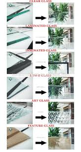 high quality blind inside window glass hollow blind glass