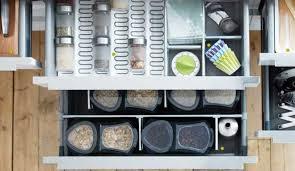 rangement pour tiroir de cuisine amnagement de tiroir de cuisine lapeyre cuisines aviva rangement